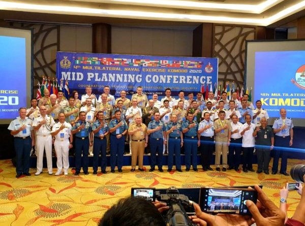 LATIHAN BERSKALA INTERNASIONAL TNI AL 4th MULTILATERAL NAVAL EXERCISE KOMODO 2020 DIGELAR DI JAKARTA DAN BANGKA BELITUNG