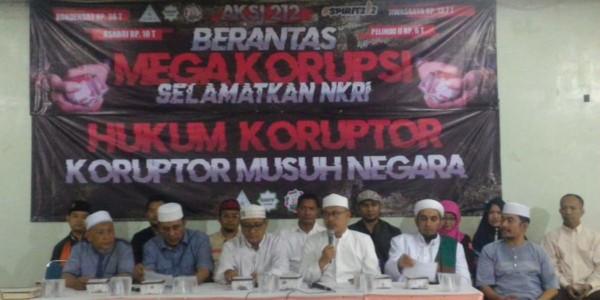 Aksi 21 Februari 2020 Depan Istana Negara,  Berantas Mega Korupsi Selamatkan NKRI