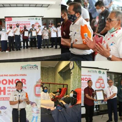 PMI Dan Pelajar se-Jakarta Utara Gelar Pekan Donor Darah Pelajar