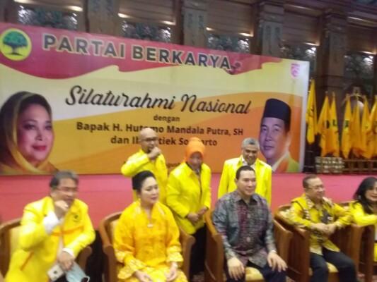 Silaturahmi  Nasional Partai Berkarya Bersama Tommy Soeharto Dan Titi Soeharto