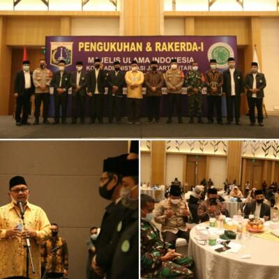 Wali Kota Ajak Pengurus Baru MUI Jakarta Utara Sosialisasikan 3M