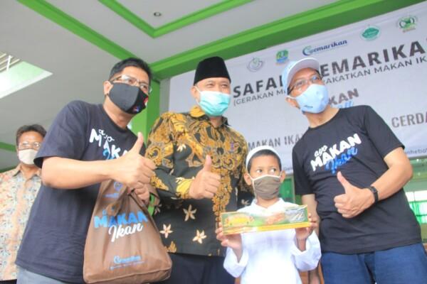 Wakil Wali Kota Bekasi Hadiri Safari GEMARIKAN, Sinergitas Dinas Ketapang, Distanikan dan KKP