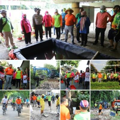 Tim Monitoring Gerebek Lumpur dan Sampah Tingkat Kota Jakut Tinjau Wilayah Kecamatan Tanjung Priok