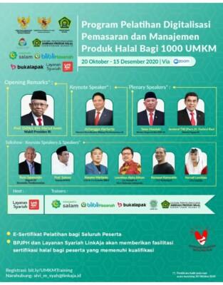 Pelatihan Digitalisasi Pemasaran dan Manajemen Produk Halal bagi UMKM