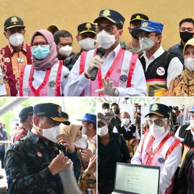 Menhub Tinjau Uji Coba GeNose di Terminal Penumpang Nusantara Dua Tanjung Priok