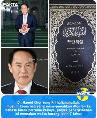 Muslim Korea Asli Terjemahkan Alquran Ke Bahasa Korea Pertama Kalinya