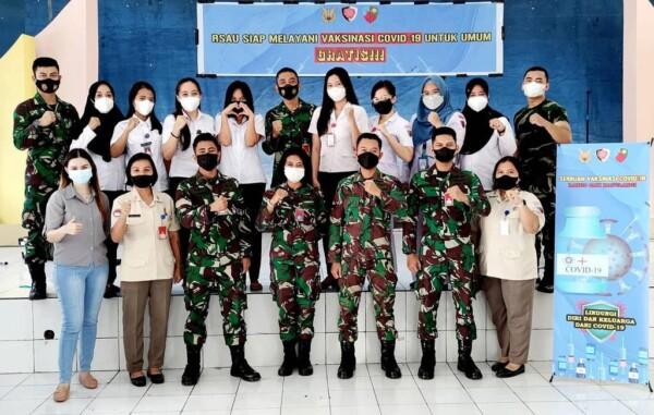 Rumah Sakit TNI AU Sam Ratulangi Manado Kembali Melakukan Serbuan Vaksinasi