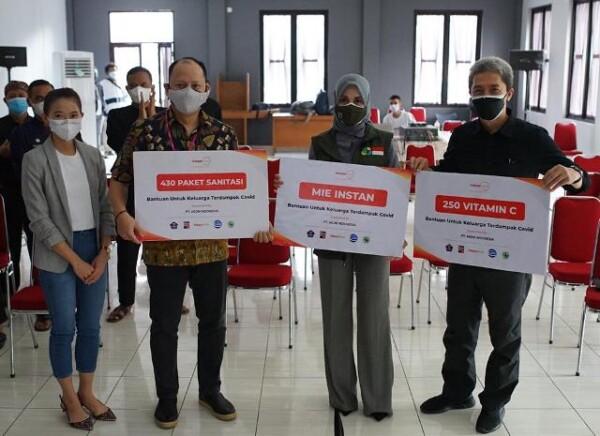 Empat Perusahaan Sebar 1.000  Paket Bantuan ke Wilayah di Kota Bogor