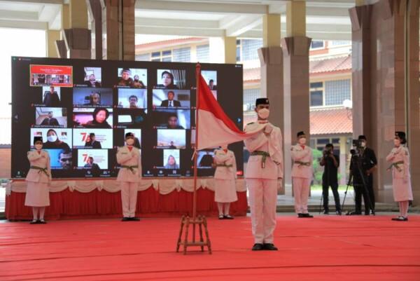 Wali Kota Tangerang Kukuhkan 18 Paskibraka Pada HUT RI ke-76 di Kota Tangerang