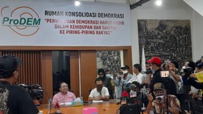DR. Rizal Ramli : Menuntut Bapepam-LK untuk Menghentikan Perdagangan saham PT Sentul City